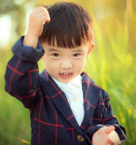小帅哥 儿童摄影
