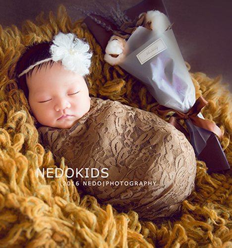 暗调の新生儿摄影 儿童摄影