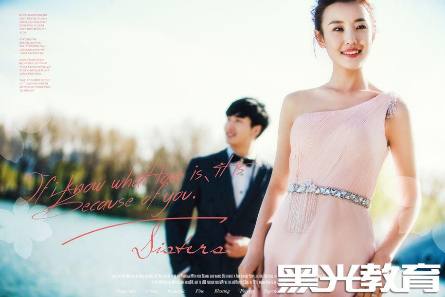 PINK Love 婚纱照