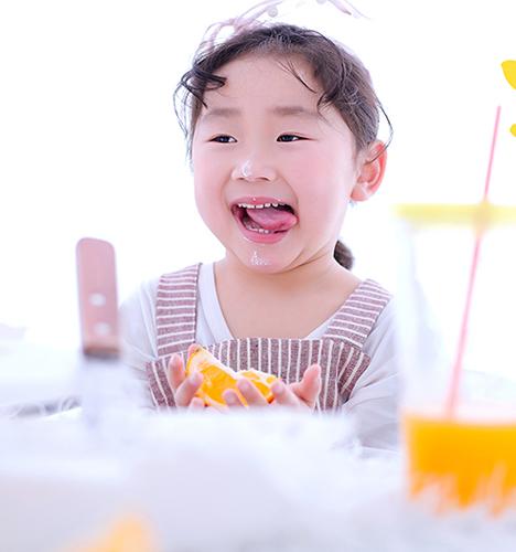 小小蛋糕师 儿童摄影