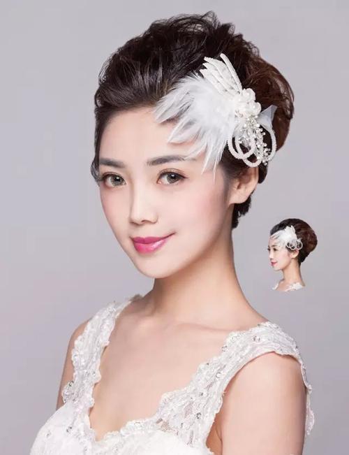 高贵唯美新娘造型图解教程 尽显优雅气质