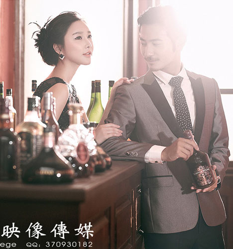 韩式婚纱 婚纱照