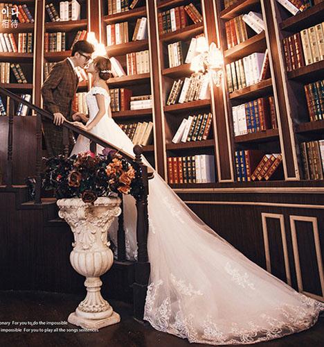 让爱相伴 婚纱照