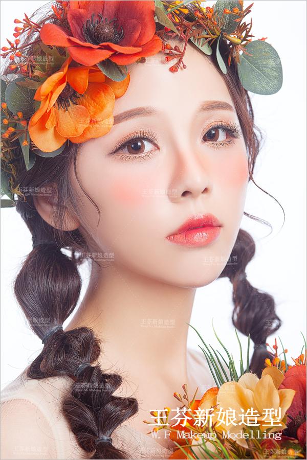 二次元日系新娘造型 纯真甜美不乏浪漫