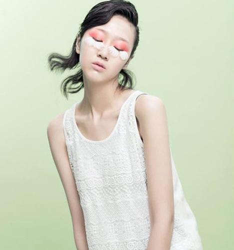 春季粉色系 化妆造型