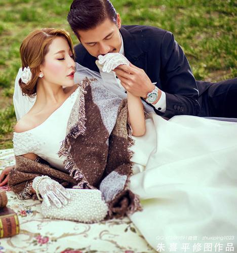 与天使约会 婚纱照