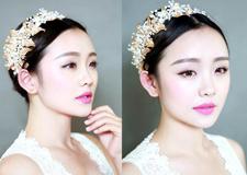清新自然的新娘化妆教程 艳压婚宴上所有的女宾