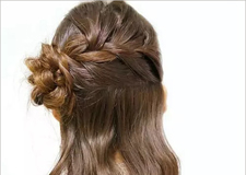 精致浪漫的伴娘编发发型教程 让美丽不平凡