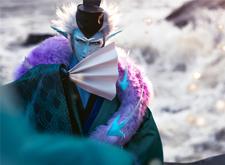 最火手游《阴阳师》cosplay摄影作品:荒川之主