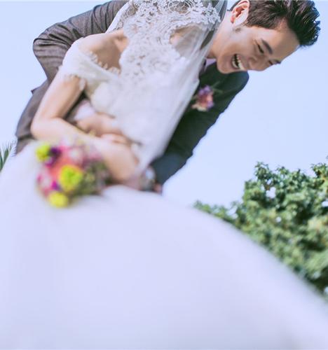青春的律动 婚纱照