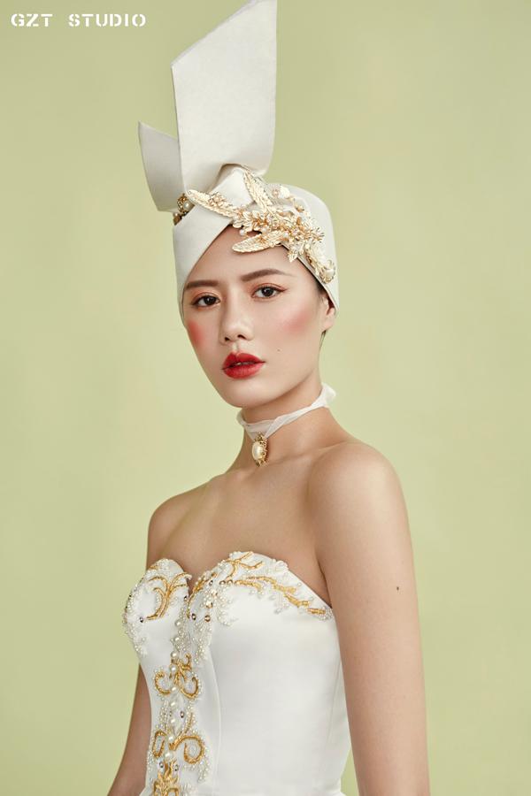 复古华丽巴洛克新娘妆容 成就新潮流图片