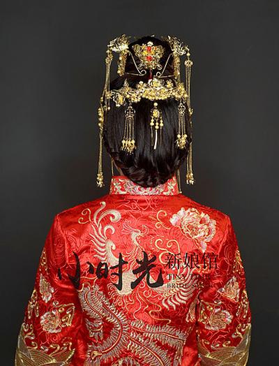 新娘造型欣赏 凤冠霞帔尽显古典之美
