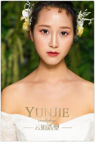 创意新娘造型 不同风格的呈现_妆面赏析_影楼化妆_网