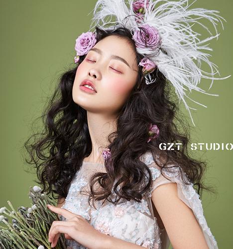 时尚创意新娘妆