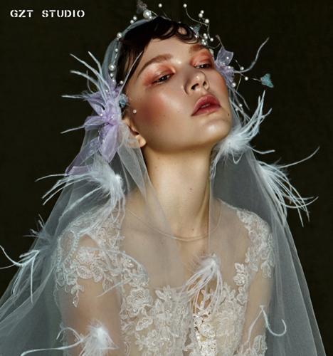 时尚创意新娘妆 化妆造型