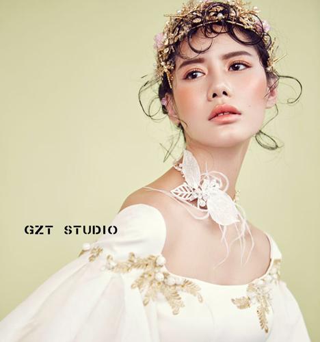 华丽巴洛克新娘妆 化妆造型