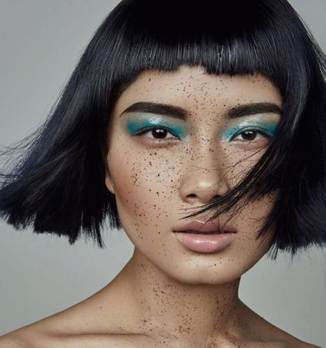 妖娆时尚妆容 化妆造型