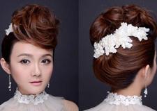 专业化妆师必备 时尚靓丽新娘编发教程