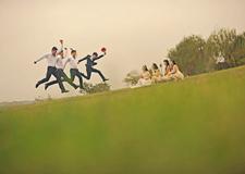 婚礼摄影 如何拍出最特别的傧相团