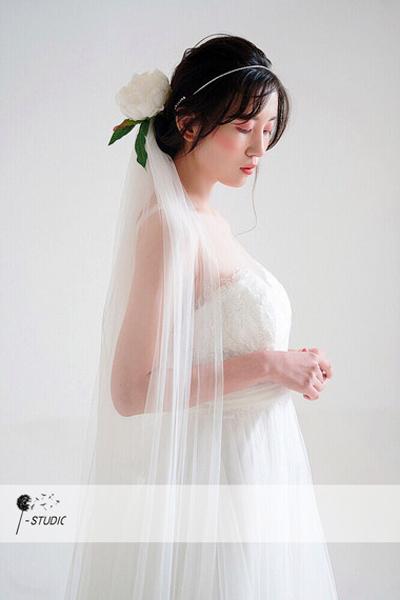 花漾新娘造型 清纯可爱不失文艺感