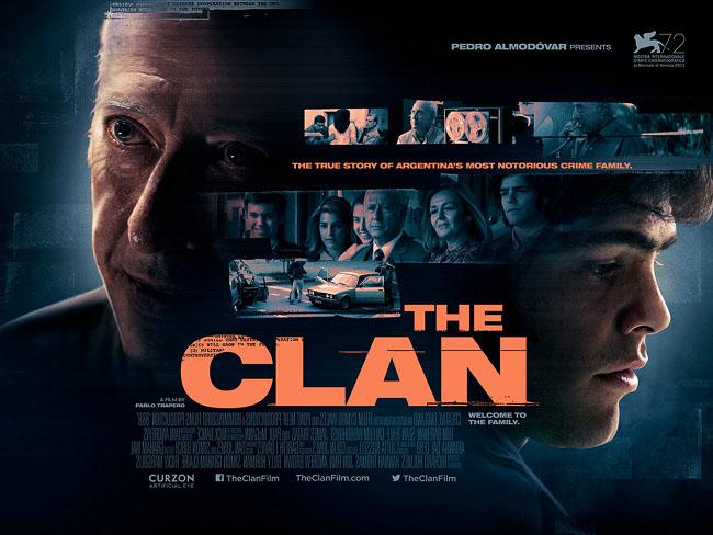 多伦多电影节获奖影片《犯罪家族》海报设计