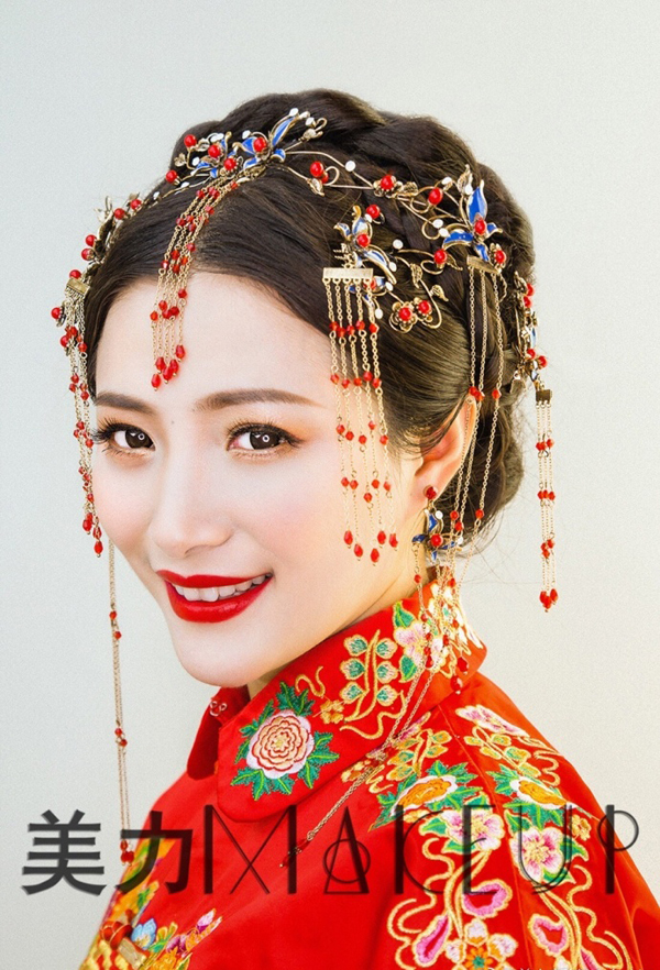 2017最新古典新娘造型 让经典成为永恒