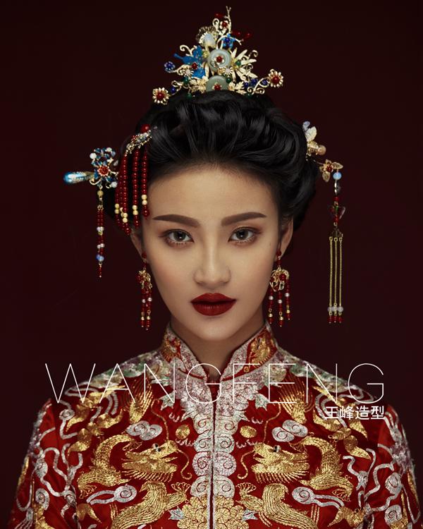 古典中式新娘造型 彰显端庄大气之美