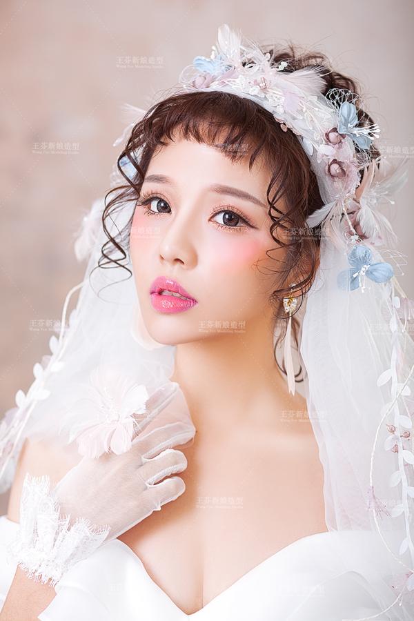 甜美可爱的日系新娘发型欣赏