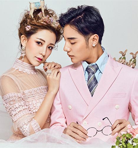 粉色时光 婚纱照
