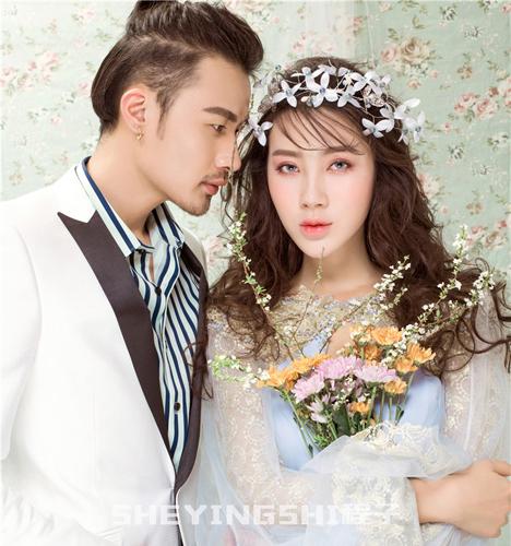 雏菊莫语 婚纱照