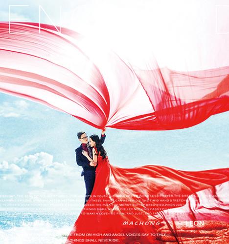 三亚海景 婚纱照