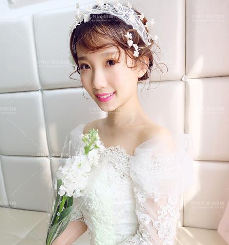 清新唯美新娘造型 化妆造型