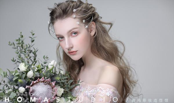 新娘造型欣赏 文艺与森系碰撞出不一样的感觉图片
