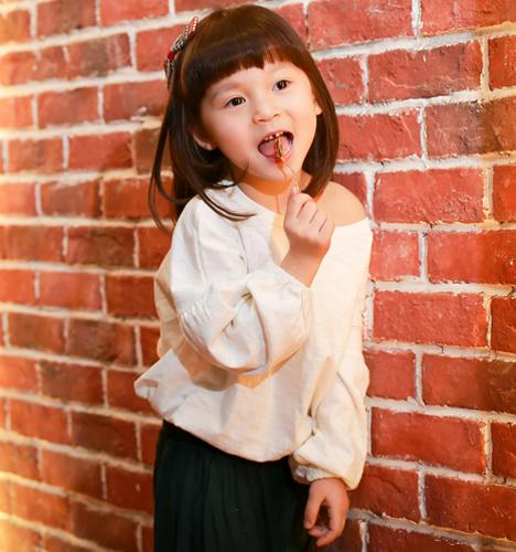 甜美的卡布奇洛 儿童摄影