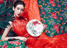 不止娇艳 用中国元素塑时尚人像