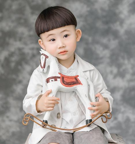 小小木马 儿童摄影