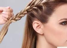 简单的发型教程 一分钟让头发美到爆