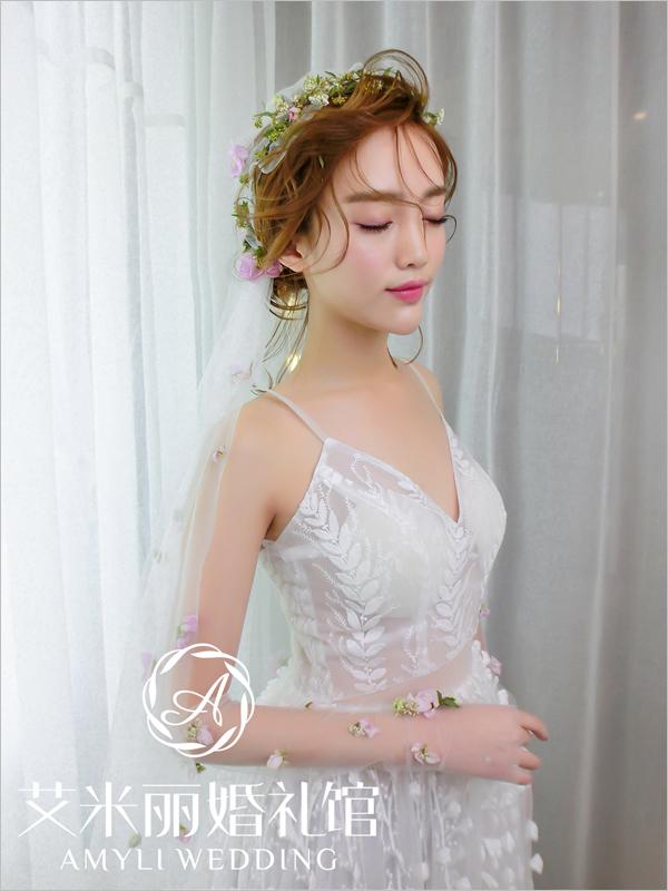 2017最新新娘头纱造型 打造迷人仙女气质图片
