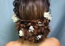 唯美实用的新娘抽丝发型教程