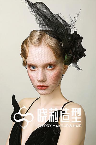 复古时尚洛丽塔新娘造型 少女味十足_妆面赏析_影楼