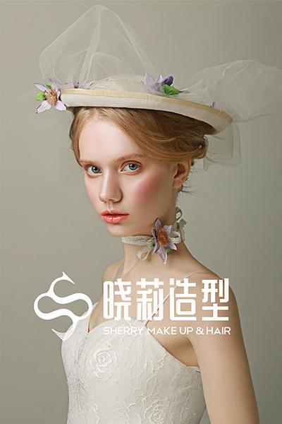 复古时尚洛丽塔新娘造型 少女味十足