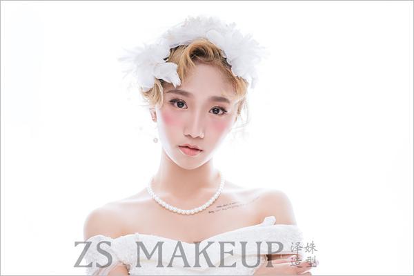 2017新潮时尚 短发新娘造型欣赏