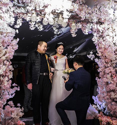 爱笑的新娘 婚礼摄影