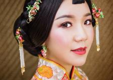 中式新娘造型 演绎温婉娴熟中国风