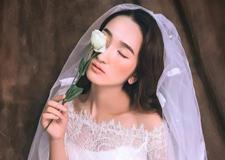 2017森系复古新娘 聆听鲜花绽放的声音