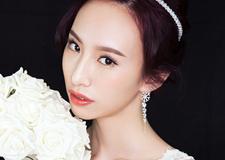 精致星级新娘造型 打造出时尚简约的气质