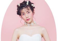 粉色公主系新娘造型 永远的少女情怀