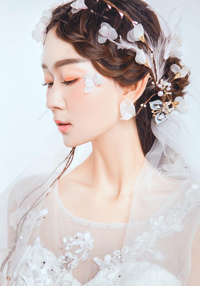 design 时尚妆面全_化妆造型_黑光图库_黑光网  17年黑光新娘造型图片