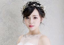 最新影楼资讯新闻-甜美优雅的新娘盘发 彰显美丽公主风