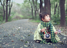 摄影实战技巧 用微单来一场清新森系人像